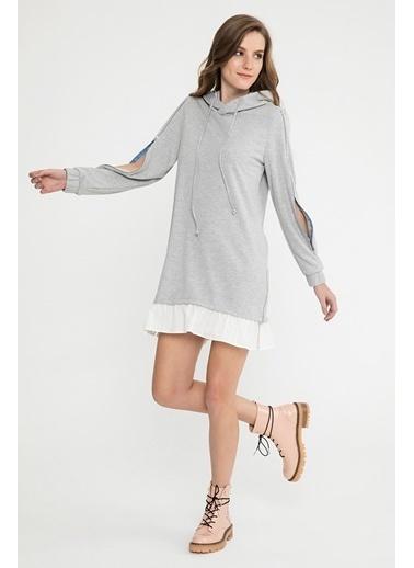 Sweatshirt Elbise-Just like you